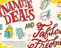 Kiplinger's July 2015 : Lettering + Illustration