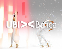 Interactive motion performer - UbiBanca
