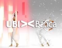 Interactive motion performer - UbiBanca
