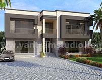 Impressive Stylish Residential Exterior Villa design