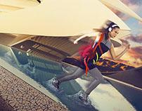 """Sport so chic"" - 180 Magazine - March 2015"