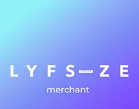 Lyfsize Merchant UI