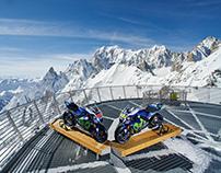 Yamaha MotoGp - Mont Blanc