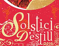 Cartel Solstici d'Estiu 2016