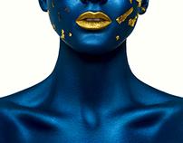 Beauty Alien Halloween Makeup