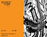 KozlovClub posters. June