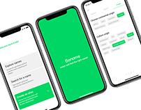 Bename App. UX case study