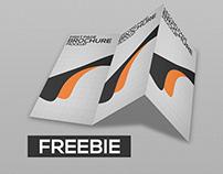 Freebie Tri-Fold Brochure Mockup