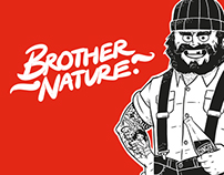 Brother Nature Soft Drink Branding