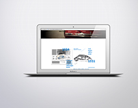 Webstie design for Volkswagen the Beetle