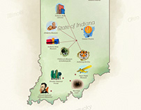Indiana Destinations Website