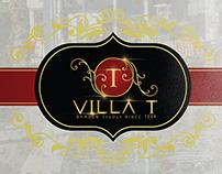 The Villa T Menu