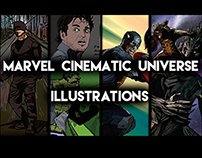Marvel Comics Illustrations