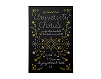 University Chorale Poster