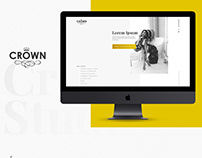 Crown Studio Modelling Agency Website