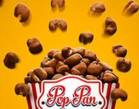 Chocolate Popcorn Pan