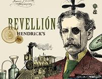 La carta convertida en cartas   Hendrick's