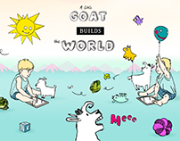 A Little Goat Builds the World