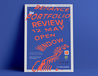Behance Portfolio Review / Event Collateral