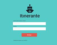 Projeto WebApp Itinerante Transportes Aquáticos.