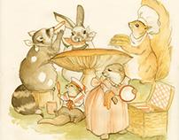 The Animal's Picnic: (children's illustration)