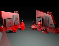 Grim Red - Concept 3D modeling