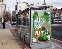 CAMPAGNE PUBLICITAIRE : FETE DE PLANTES