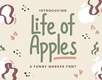 Life Of Apples - Comic Handwriting Font