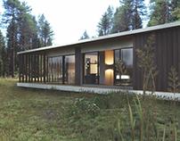 Проект интерьера и экстерьера загородного дома