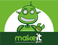 Make It Guru robot mascotte
