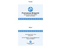 Francesco Briganti - Business Card
