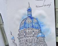 Urban Sketching 2015