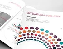 LITTERATURHUSBIBLIOTEK – grafisk profil