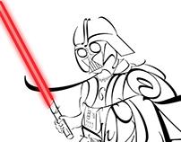 Typography Star Wars