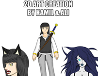 2D Art Creation