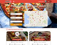 Rediseño de Homepage de PedidosYA