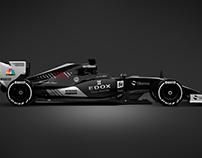 2017 Sauber Mercedes F1