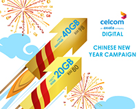 CELCOM FIRST™ Chinese New Year DIGITAL CAMPAIGN