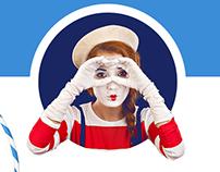 Novosibirsk's circus landing page
