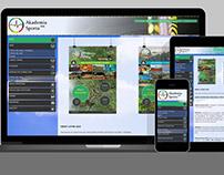 Strona internetowa / Website – Akademia Sportu MK