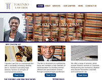 Law Firm Website UI