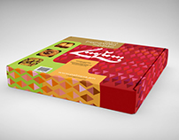 "Packaging design ""HALEB"" sweets"