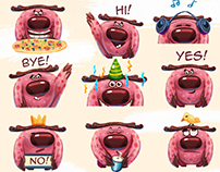 Forrest the moose. iMessage Stickers Telegram Stickers