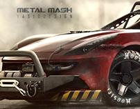 Ferrari FF - Metal Mash series