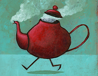 Sr. Tetera / Mr. Teapot