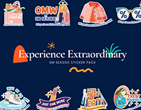 Experience Extraordinary Sticker Pack