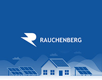 Rauchenberg - Logo and visual identity
