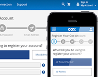 Cox Communications – My Profile (Account Management)
