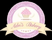 Adri's Bakery logo design