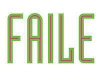 FAILE Exhibition Graphics